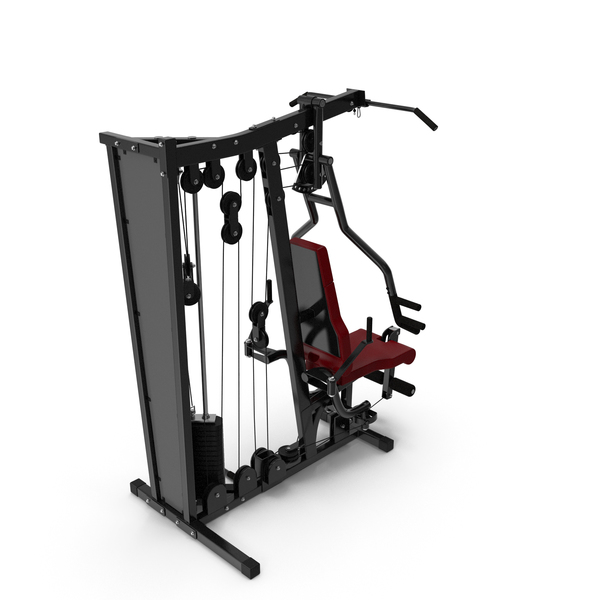 Weightlifting Machine: Multi Fitness Equipment Home Gym PNG & PSD Images