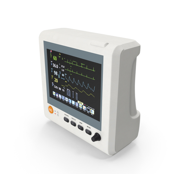 Multi Parameter Patient monitor PNG & PSD Images