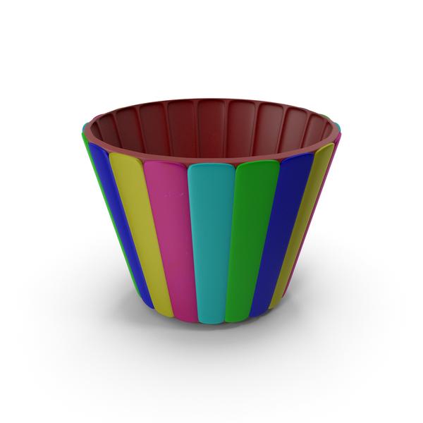 Multi Plastic Bowl Cup Pot Vase PNG & PSD Images