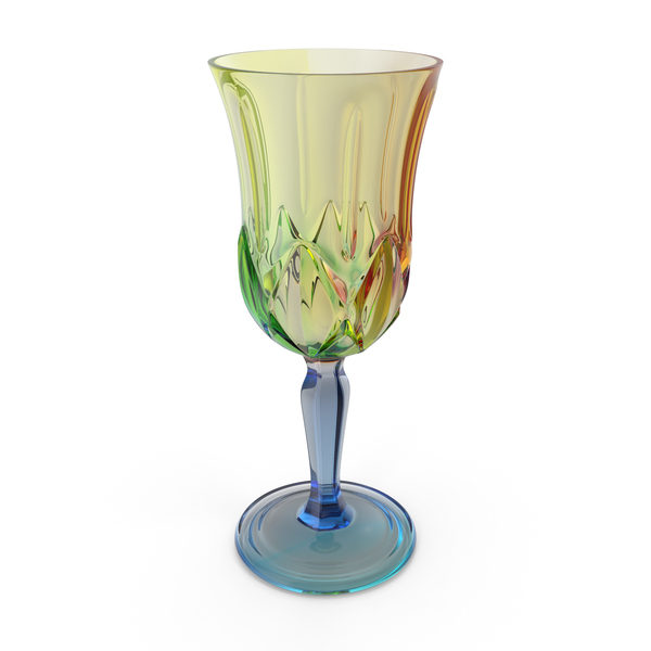 Multicolor Engraved Glass PNG & PSD Images