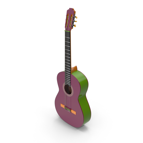 Multicolor Guitar PNG & PSD Images
