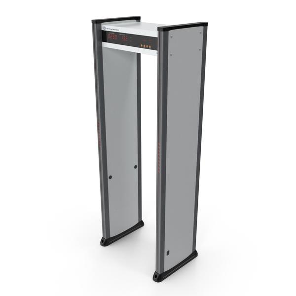 Multizone Door Frame Metal Detector PNG & PSD Images