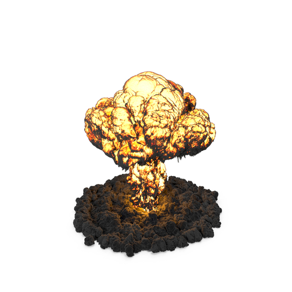Mushroom Cloud Explosion PNG & PSD Images
