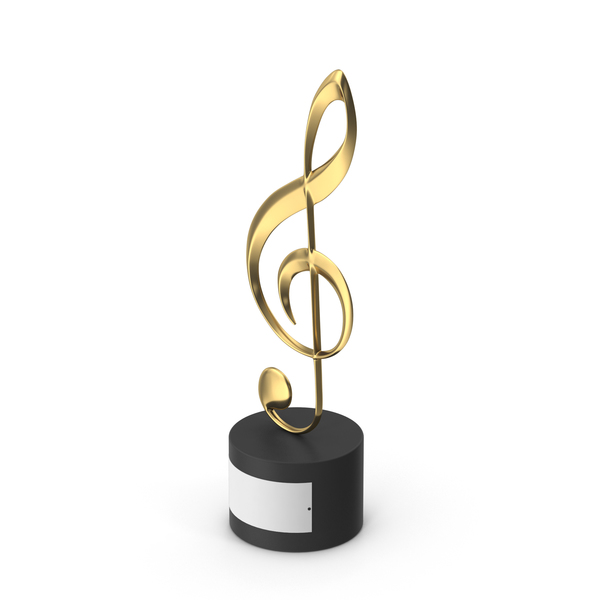 Music Award Trophy PNG & PSD Images