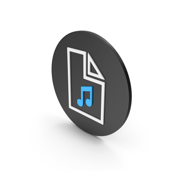 Computer: Music File Icon PNG & PSD Images