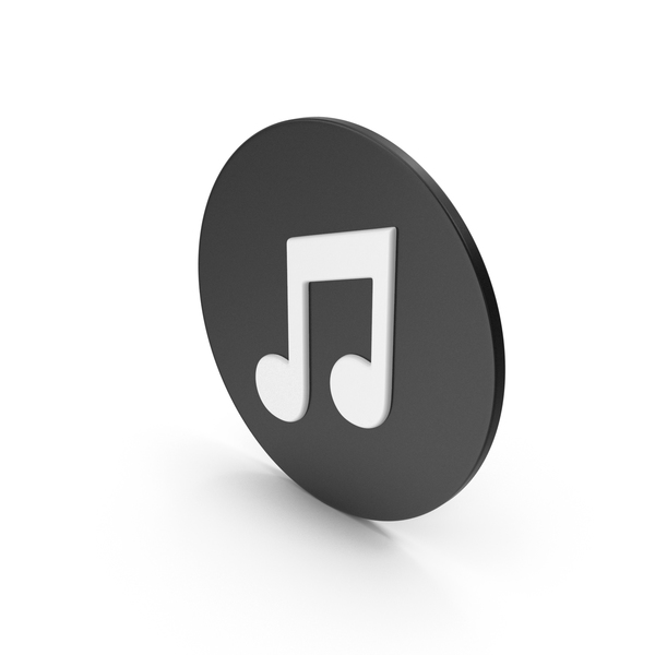 Computer: Music Note Icon PNG & PSD Images