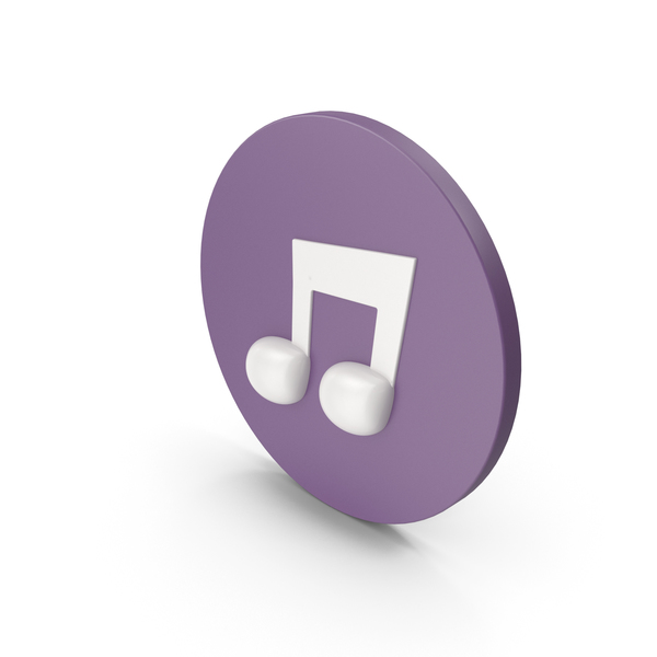 Musical: Music Note Icon PNG & PSD Images