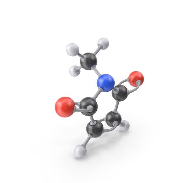 N-Methylmaleimide Molecule PNG & PSD Images