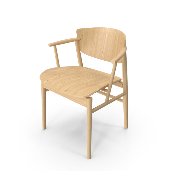 N01 Wooden Chair PNG & PSD Images