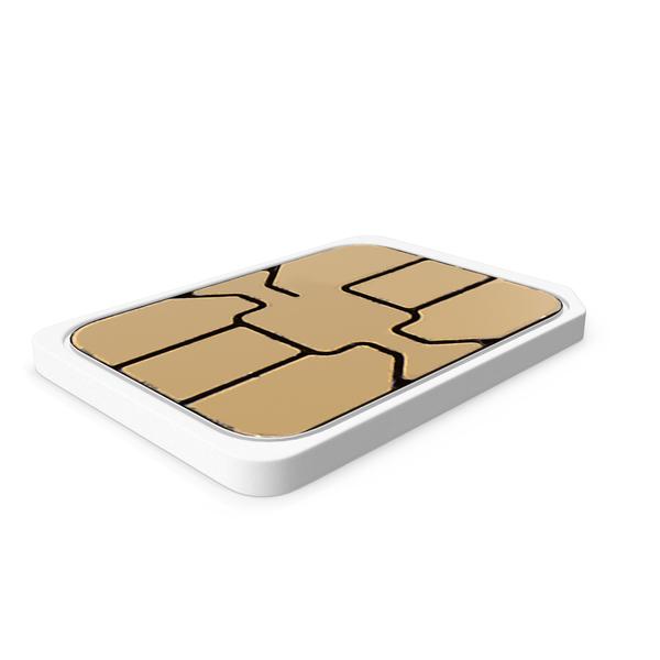 Nano SIM Card PNG & PSD Images