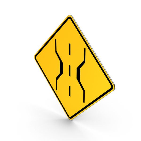 Narrow Bridge Superseded Sign PNG & PSD Images