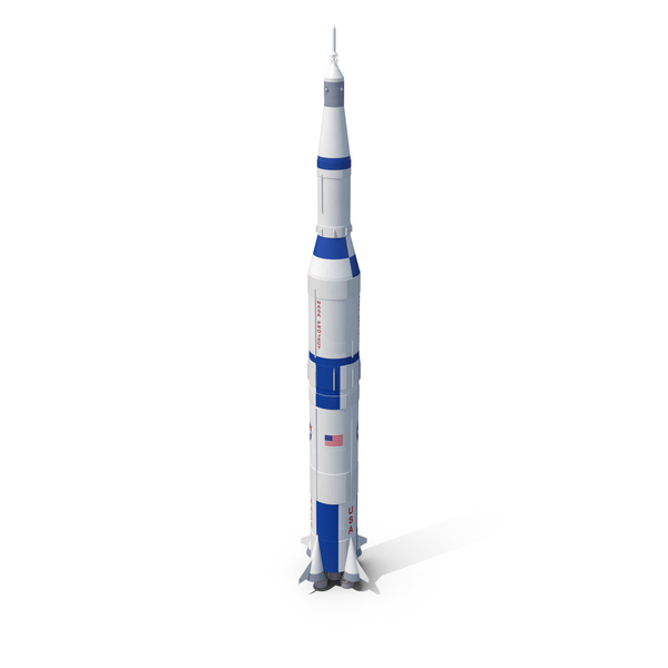 NASA Saturn V Rocket PNG & PSD Images