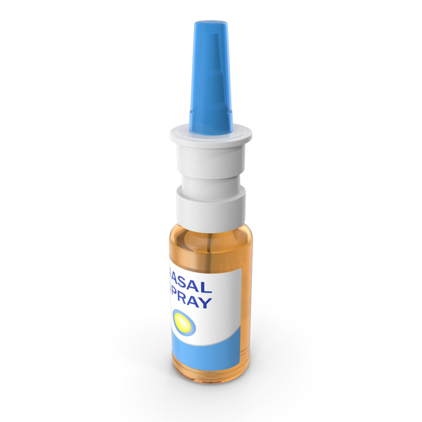 Nasal Spray Bottle PNG & PSD Images