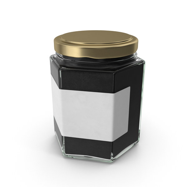 Natural Pigment in Glass Jar PNG & PSD Images
