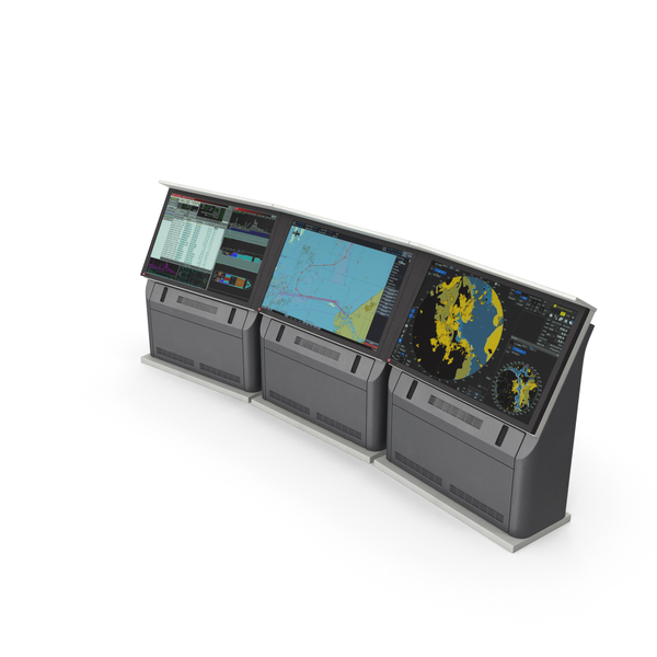 Digital Display: Naval Monitors Radar System PNG & PSD Images