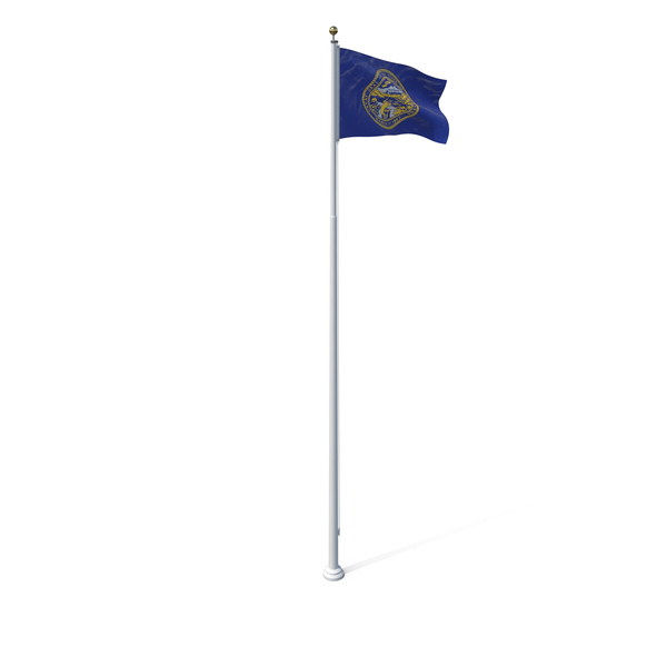 Nebraska State Flag Object