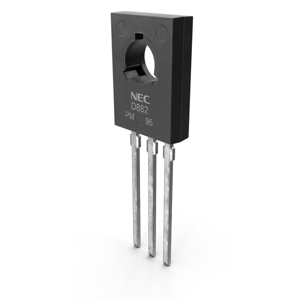 NEC D882 NPN Silicon Power Transistor PNG & PSD Images