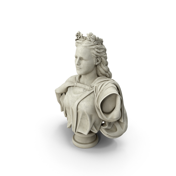 Neoclassical Bust PNG & PSD Images