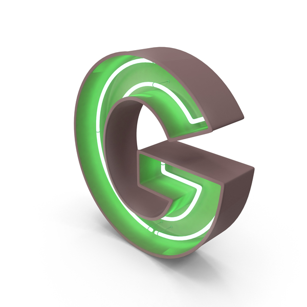Neon Letter G PNG & PSD Images