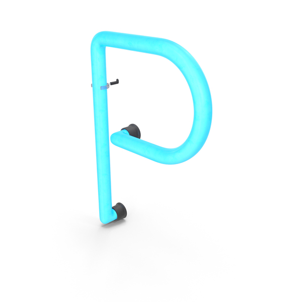 Neon Letter P PNG & PSD Images