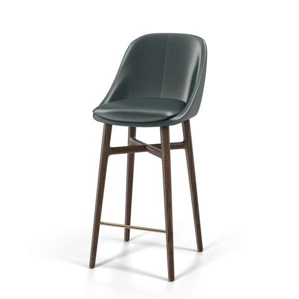 Bar Stool: Neri & Hu Solo Breakfast Barstool PNG & PSD Images