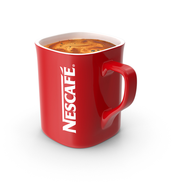 Nescafe Coffee Cup Object