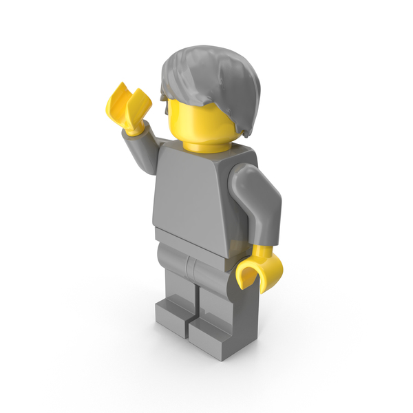 People: Neutral Lego Man With Hair PNG & PSD Images