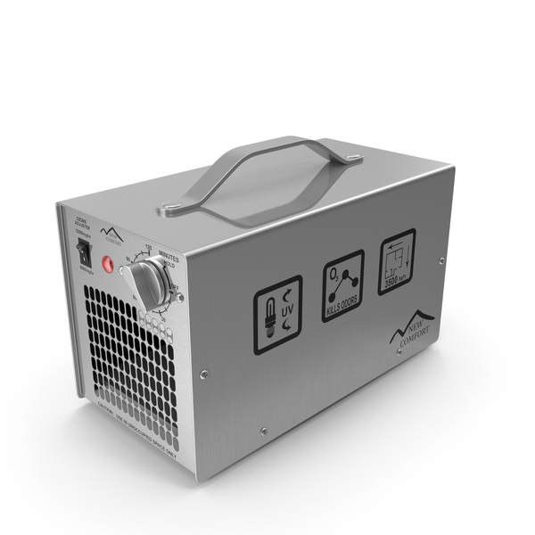Air Purifier: New Comfort Commercial Ozone Generator PNG & PSD Images