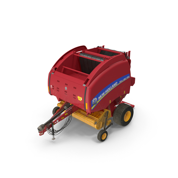 Bale Wrapper: New Holland Roll Belt 460 Dirty PNG & PSD Images