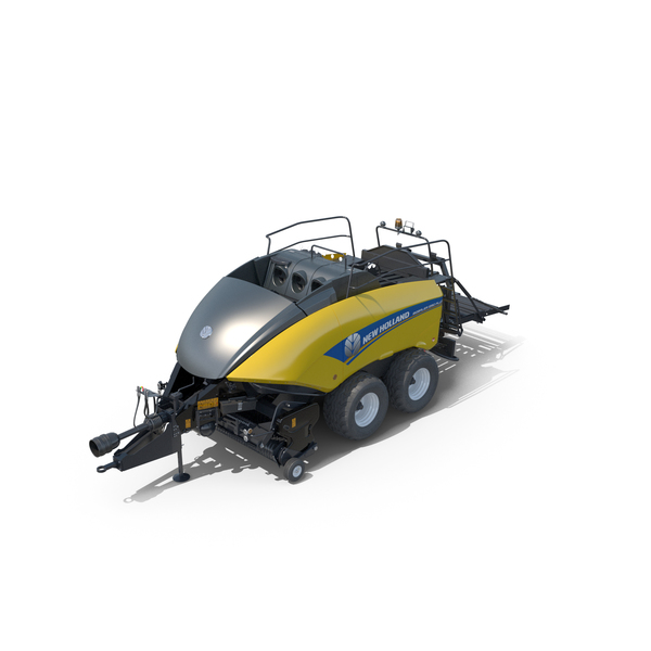 New Holland T7 with Bigbaler PNG & PSD Images