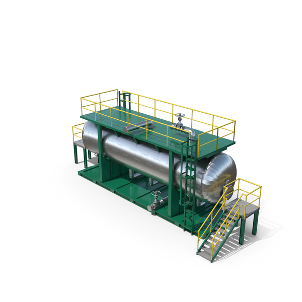 New Oil Refinery De-salting Tank PNG & PSD Images