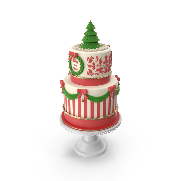 New Year Cake PNG & PSD Images