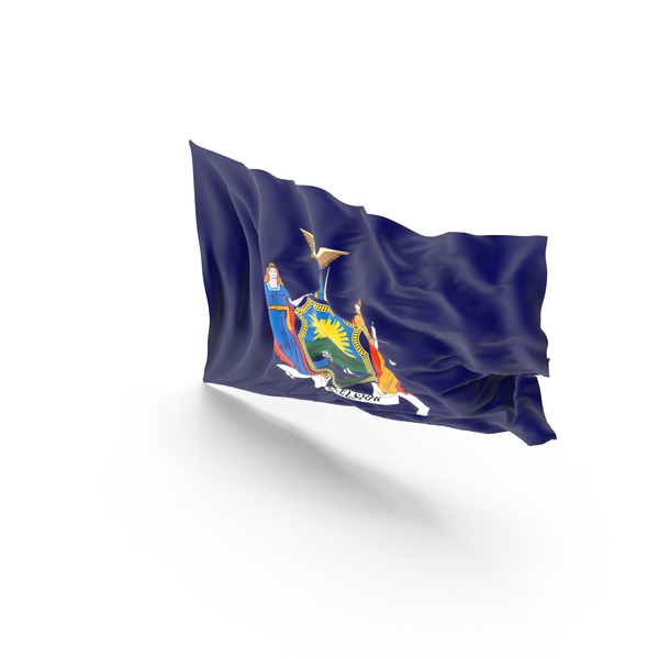 New York State Flag PNG & PSD Images