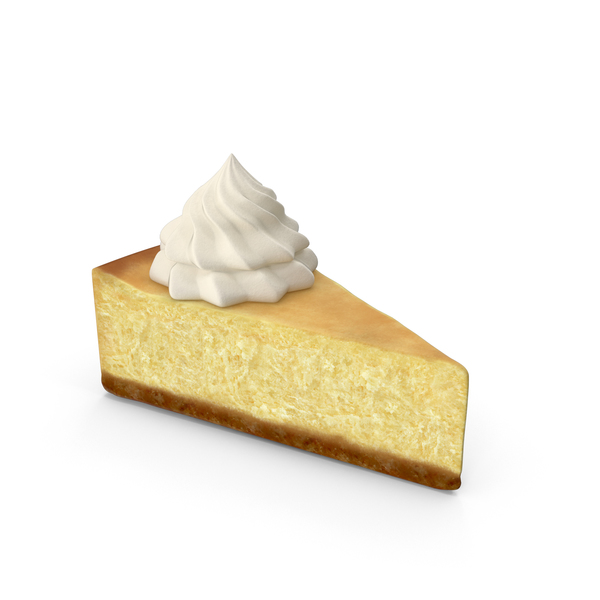 New York Style Cheesecake Slice PNG & PSD Images