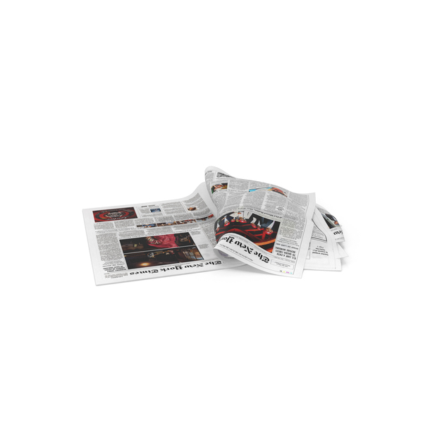 Newspaper Litter PNG & PSD Images