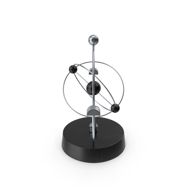 Newton Cradle Orbital PNG & PSD Images