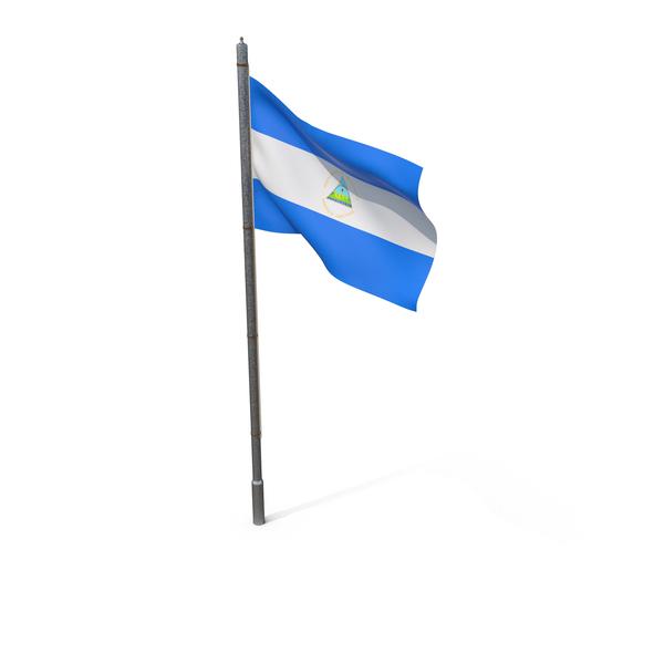 Nicaragua Flag PNG & PSD Images