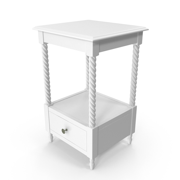 Night Stand White PNG & PSD Images