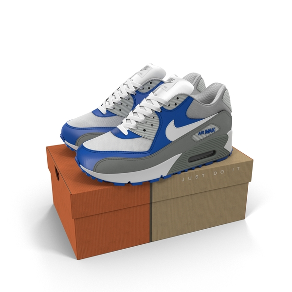 Shoebox: Nike Air Max 90 PNG & PSD Images