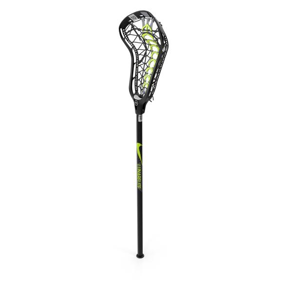Nike Lunar Elite Womens Lacrosse Stick PNG & PSD Images