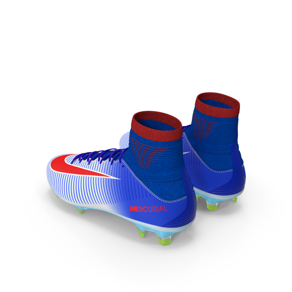 Nike Mercurial Veloce Soccer Cleats Blue PNG & PSD Images