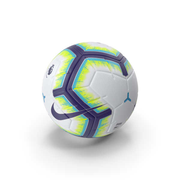 Nike Merlin Premier League Ball PNG & PSD Images