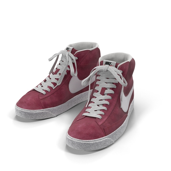 Nike Mid Blazer Red Wine Object