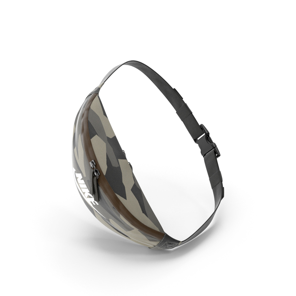 Nike Sportswear Heritage Waist Bag Camo PNG & PSD Images