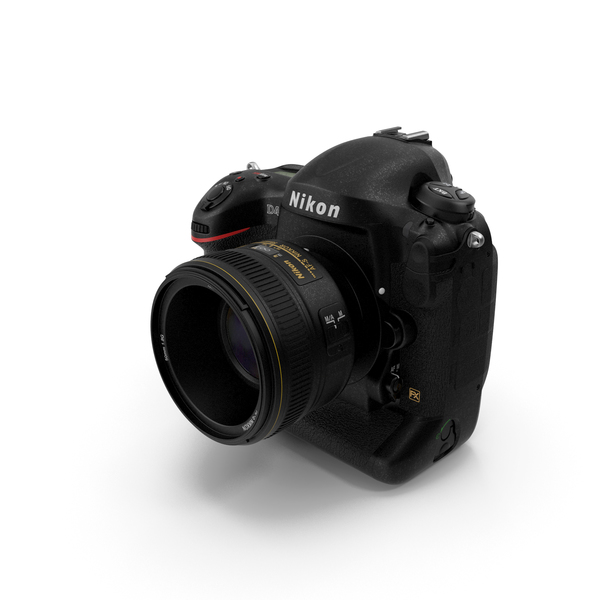 Nikon D4 PNG & PSD Images