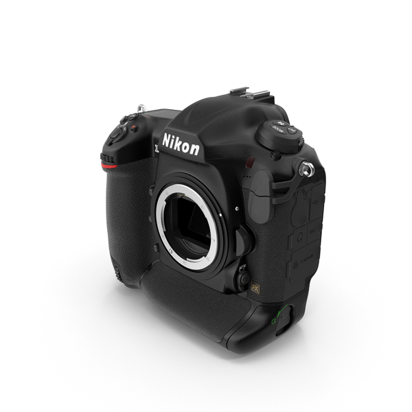 Digital: Nikon D5 DLSR Camera Body PNG & PSD Images