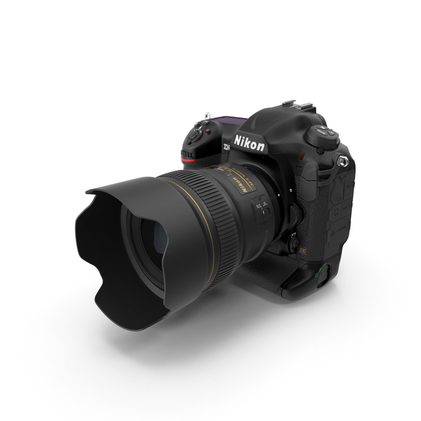 Nikon D5 DSLR Camera PNG & PSD Images