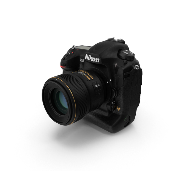 Nikon D5 Professional DSLR Camera PNG & PSD Images