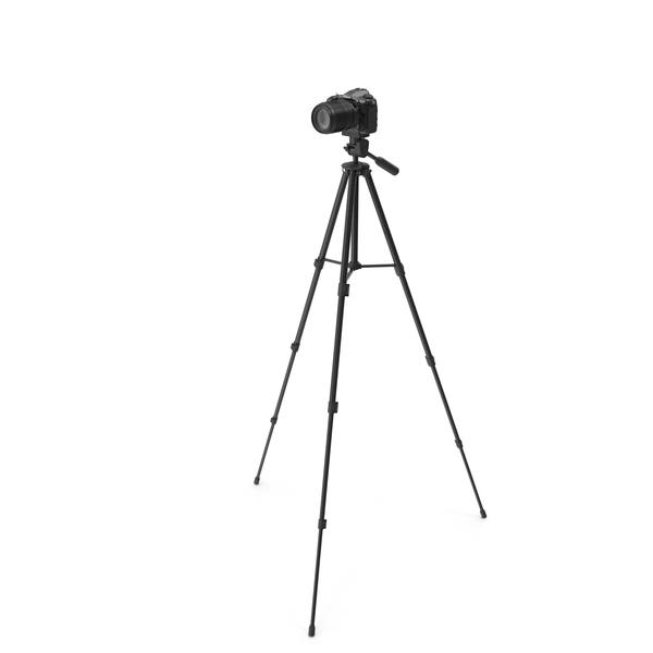 Camera Tripod: Nikon D500 on a Crank PNG & PSD Images