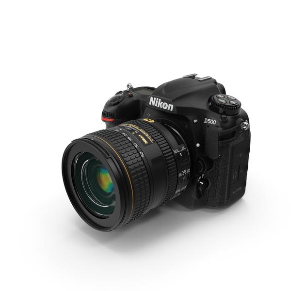 Nikon D500 PNG & PSD Images
